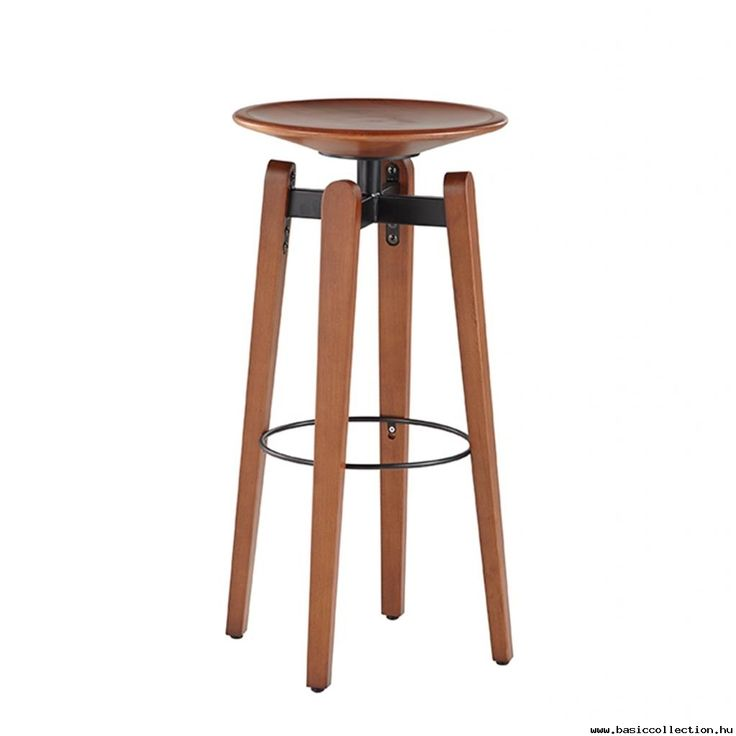 Bongani wooden barstool #basiccollection #barstool #wooden #seat #bar #furniture #horeca