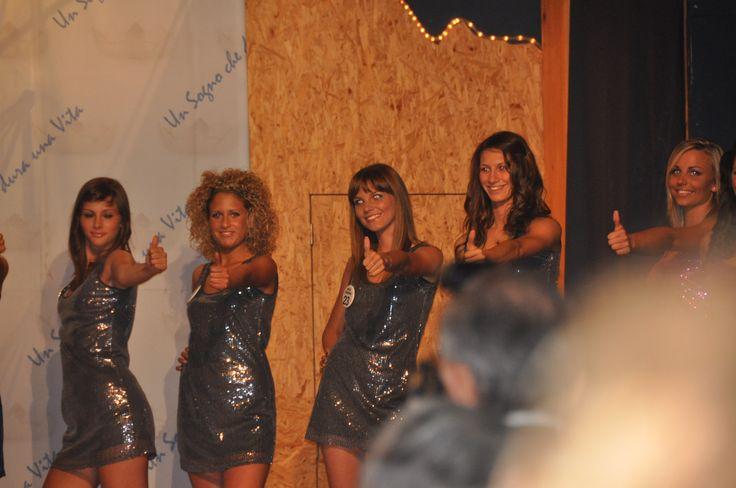 Le Miss Al concorso di bellezza di Miss Italia