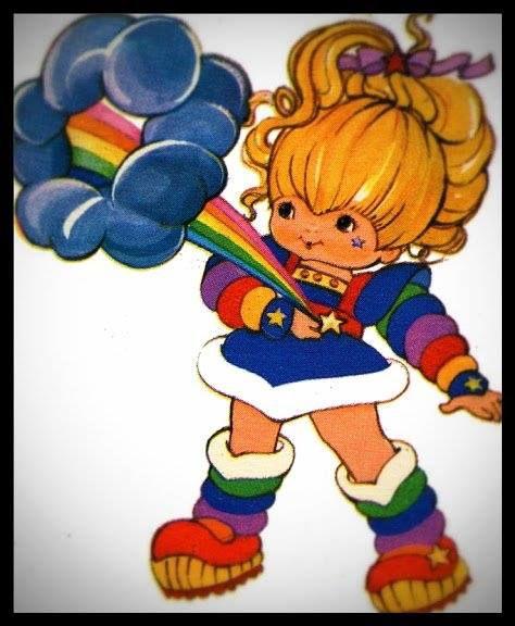 My hero, Rainbow Brite
