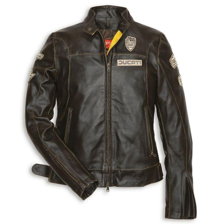 Ducati Historical Ladies Leather Jacket