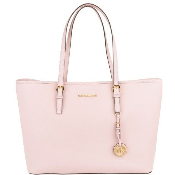 Michael Kors Jet Set Travel Multifunction Tote Blossom in rose, Handle... (480 AUD) ❤ liked on Polyvore featuring bags, handbags, tote bags, rose, shopping bag, michael kors tote, man bag, shopping tote bags and shopper tote