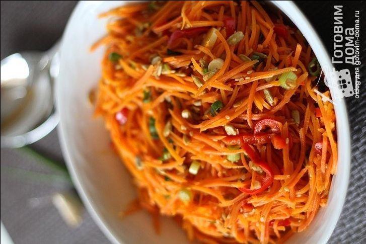 Рецепт Пикантный морковный салат