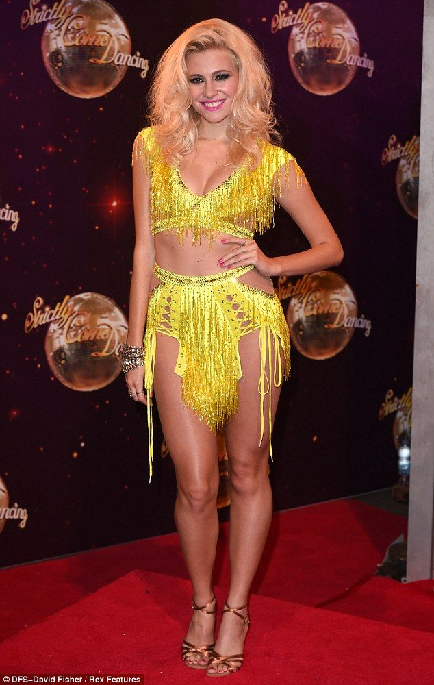 Favourite: Pixie Lott has already been tipped to win the Strictly Come Dancing Glitter Bal...