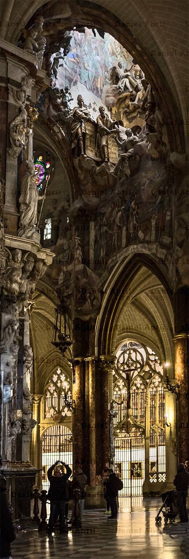 """""""El transparente"""" (1729-1732). Catedral de Toledo. Impresionante escultura de Narciso Tomé."""