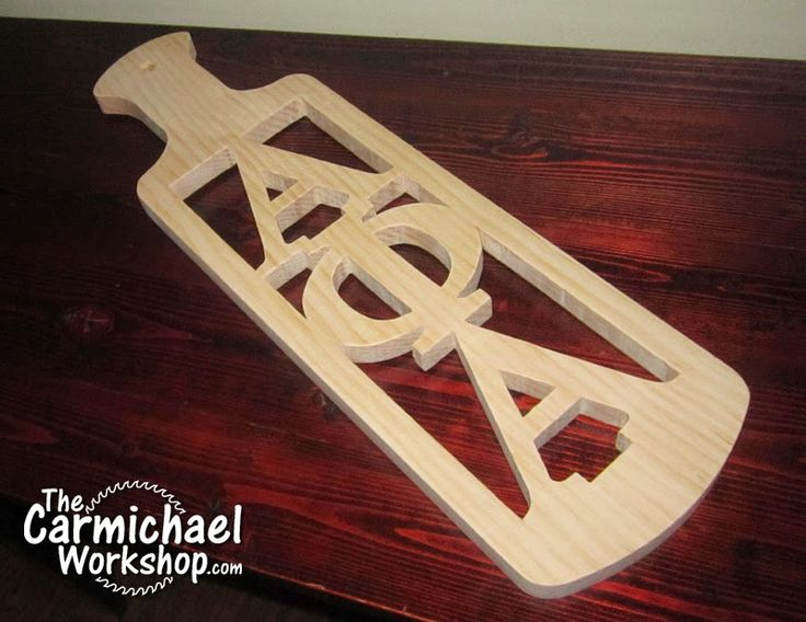 17 best images about the carmichael workshop woodworking for Greek paddle template