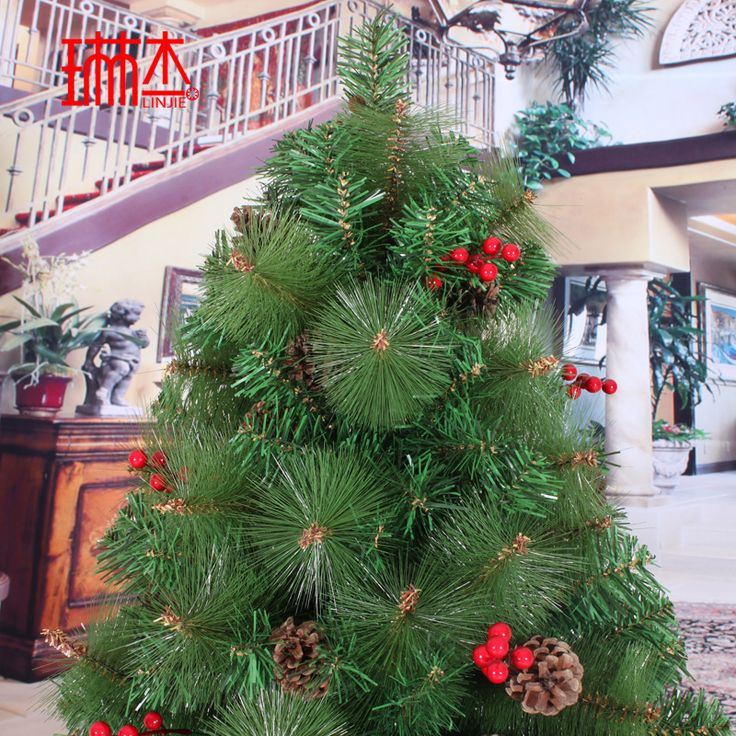 Faux Christmas tree with pinecones for $287.44