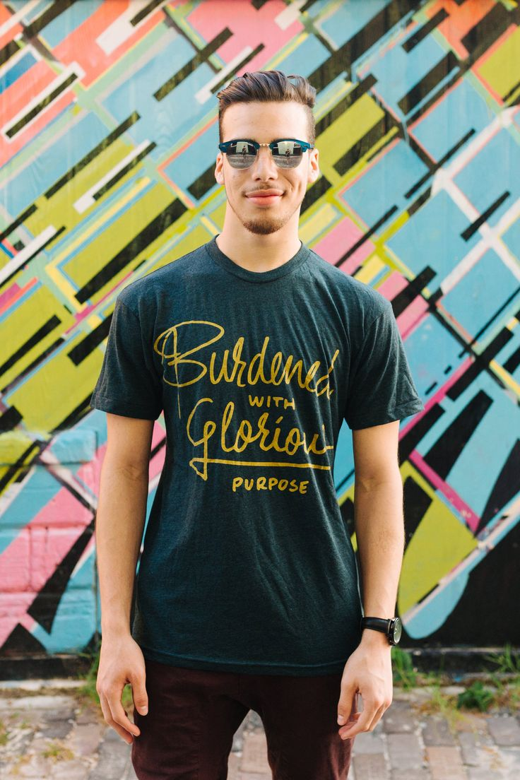Burdened with glorious purpose | Jordandene T-Shirt