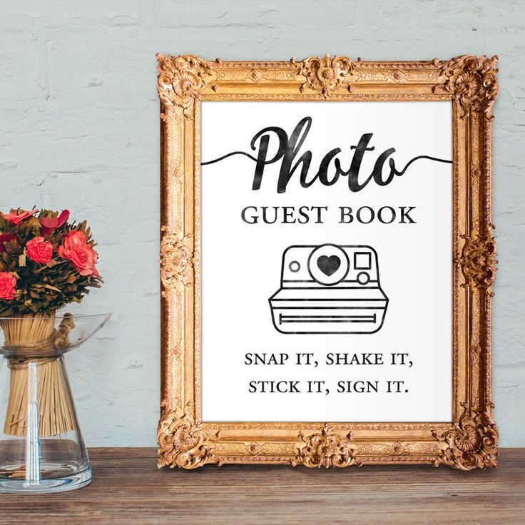 Photo Book Guest Book: 25+ Best Ideas About Photo Guest Book On Pinterest
