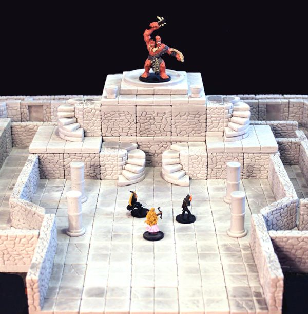 Dungeonstone sells terrain for Dungeons and Dragons and other RPGs.