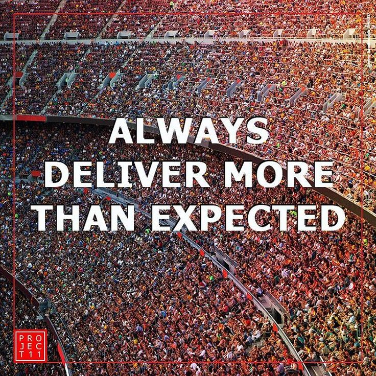 Always deliver more!! #sport #tuesdaymotivation #tuesday #media #delivery #Motivation #sportsmarketing #sportsadvertising #goals #fit #marketing #ad