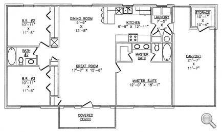 metal 40x60 homes floor plans Steel Home Framing Package Steel