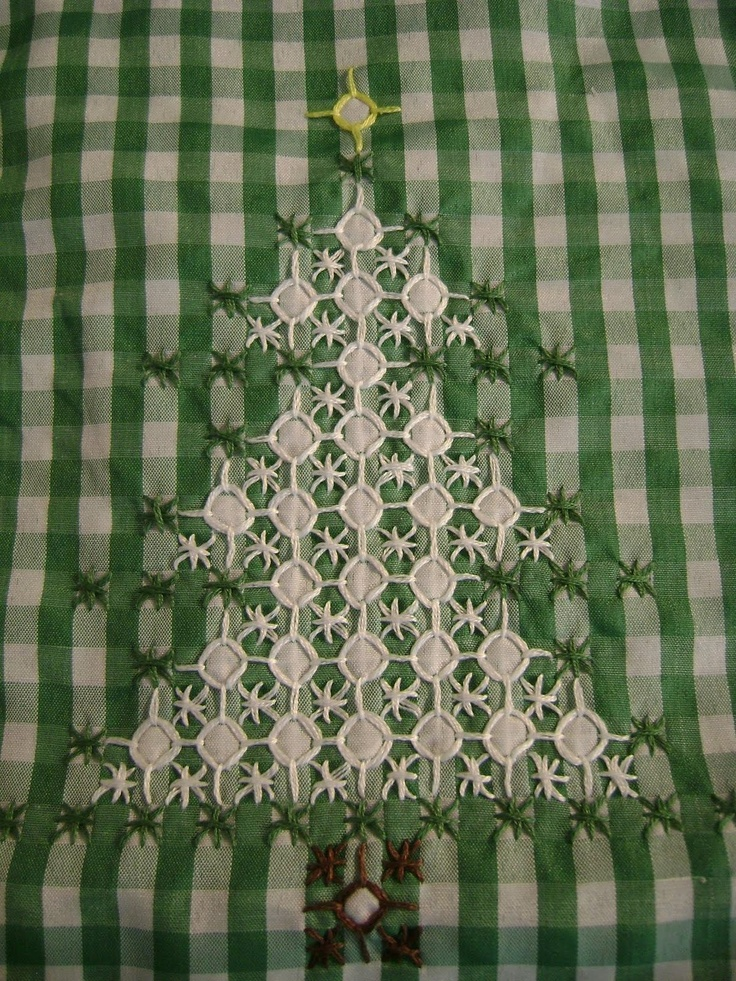 Chicken Scratch Christmas Apron