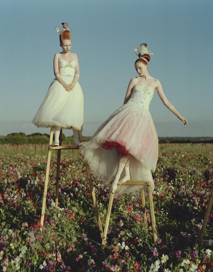 Alice Gibb and Sophie Drake - Tim Walker