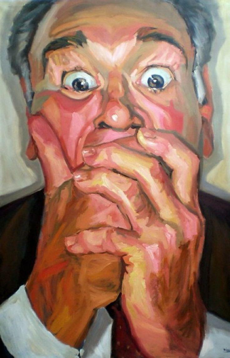 Sorpresa, 2009, oil on canvas, cm 195x130