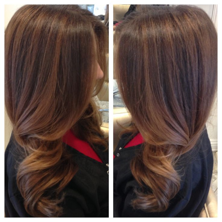 Natural Blended Highlights Hair Pinterest