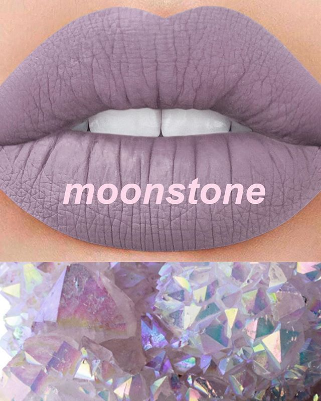 #comingsoon MOONSTONE: moonstone grey  This shade is LIMITED EDITION, once it's gone it's dead forever!!! ⚰ Dying for it? Subscribe to be notified on limecrime.com/velvetines