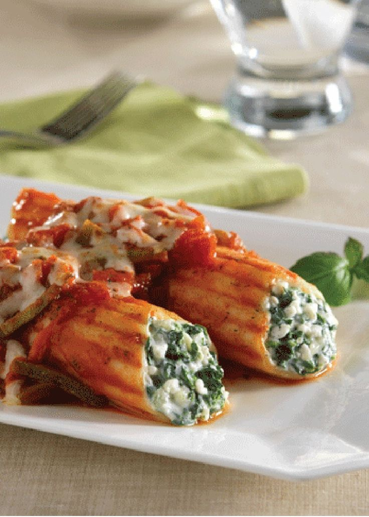 182 best italian recipes images on pinterest cooking recipes three cheese manicotti with chunky vegetable sauce food recipes for dinner italian forumfinder Images
