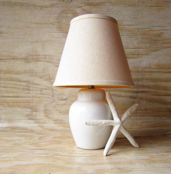 mid century ginger jar lamp and shade - Ginger Jar Lamps