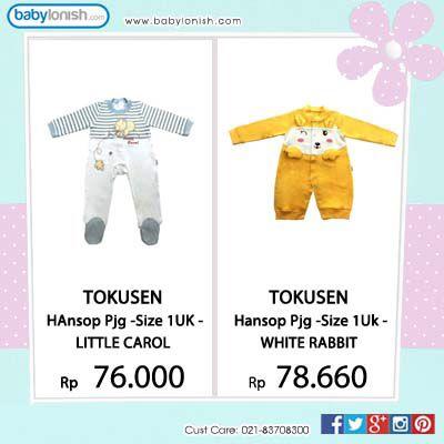 Menurut saya...  Anak bayi paling lucu kalau pake baju hansop/onesies. Kenapa? Karena kesannya baby banget...  Dapatkan hansop Tokusen di www.babylonish.com Telah memiliki sertifikat SNI.