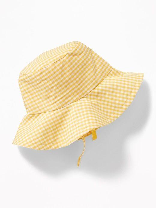 0e937ce8 Gingham Poplin Sun Hat for Baby   Old Navy   Baby Girl Fashion ...