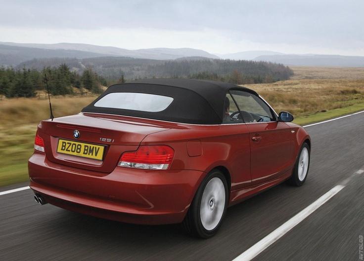2009 BMW 1 Series Convertible UK Version | BMW | Pinterest | BMW ...