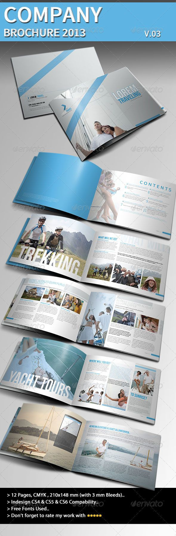 Company Brochure 2013 Part 03 - GraphicRiver Item for Sale