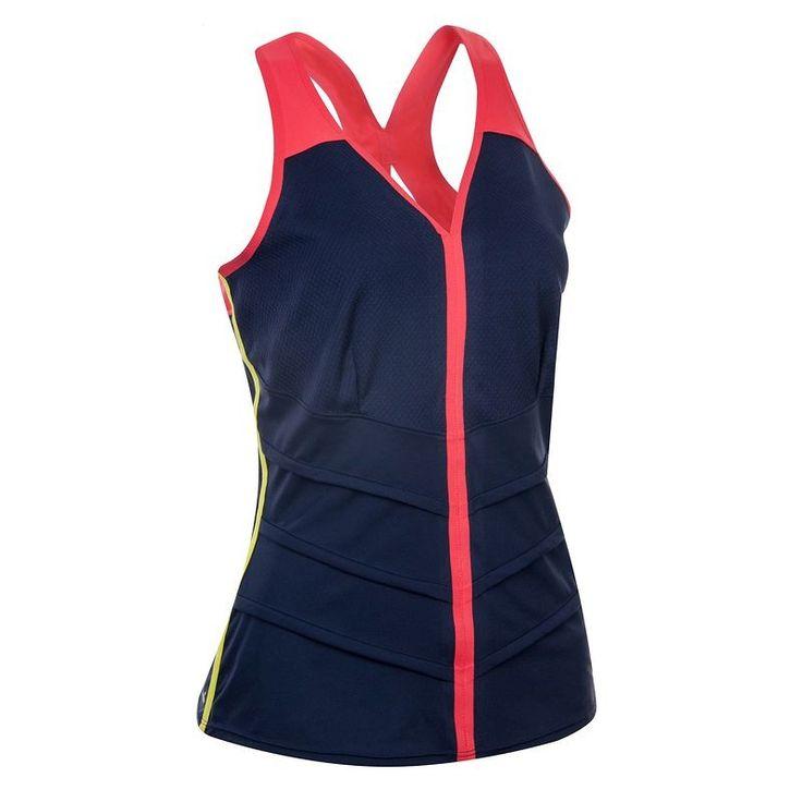 taille 44 - 9€  SDR Habillement et cho7 sports de raquette Tennis, Tennis de table, ... - ARTENGO DEB 900 F MARINE ARTENGO - Tennis