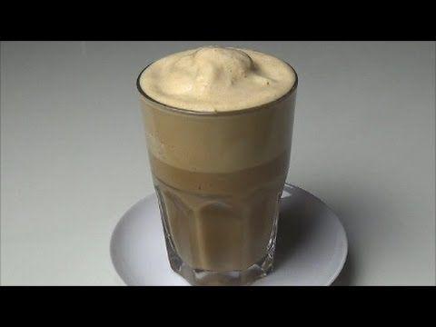 Schneller & cremiger Eiskaffee im Thermomix TM 31 - YouTube