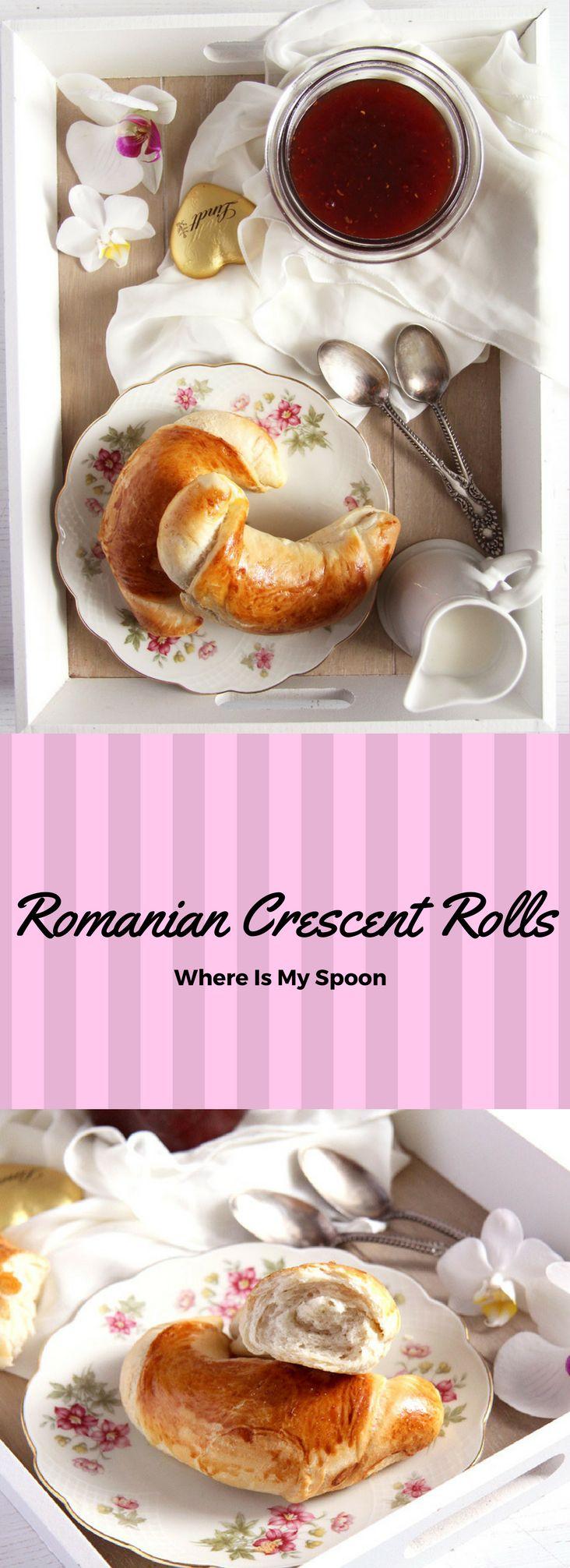 Romanian Crescent Rolls