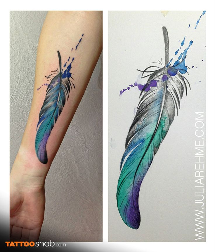 best 25 watercolour feather tattoo ideas on pinterest watercolor feather tattoos watercolor. Black Bedroom Furniture Sets. Home Design Ideas