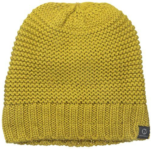 Merrell Mens Nebulous Beanie One Size Green Sulphur  fashion  clothing   shoes  accessories  mensaccessories  hats (ebay link) 9c9af563e61