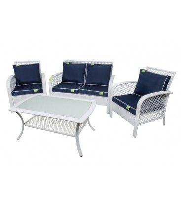 Set #sofà #salottino per #esterni, #terrazzo, #giardino, bordo #piscina. Collezione #estate 2017, #CoveriGarden #arredogiardinoonline