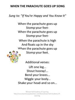 Parachute Songs and Games