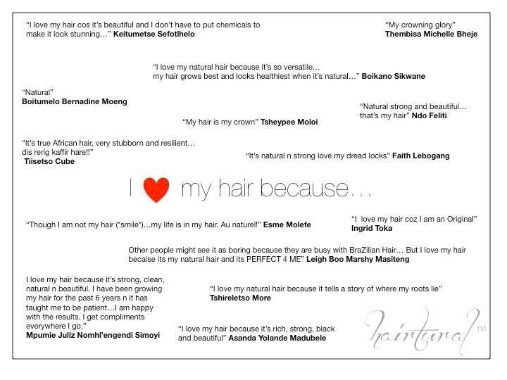 I ❤️ my natural hair because...