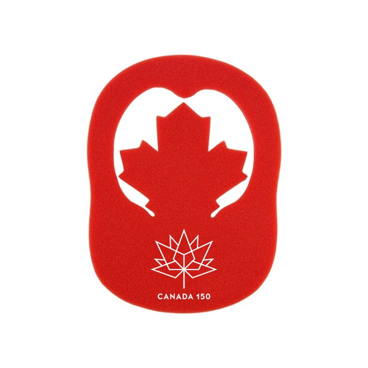 Canada 150 Maple Leaf Pop Up Visor Hat