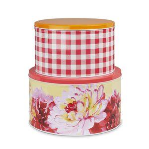 Floral Heritage Set of 2 Cake Tins