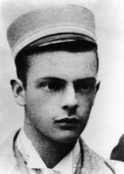Klee, Paul, 18.12.1879 – 29.6.1940, German painter and graphic artist, portrait, as pupil in Bern, Switzerland, 1897