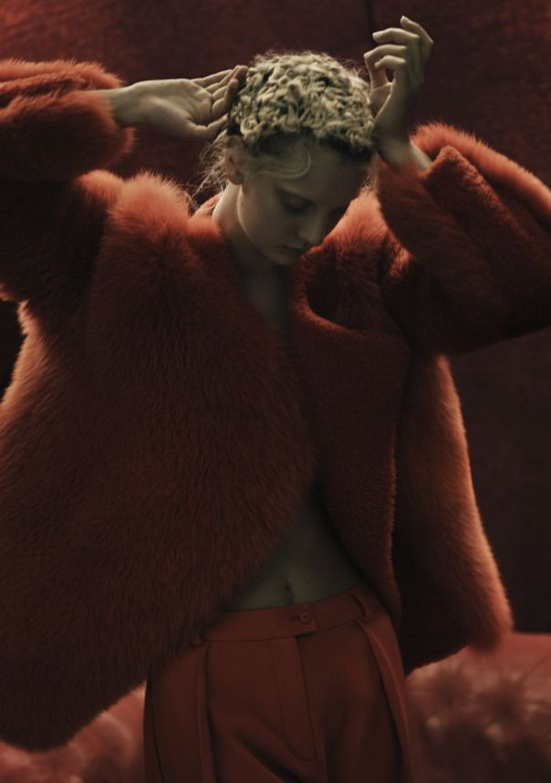 Rory Payne Brilliantly Delivers Codie Young As The Lady In Red For Exit Magazine , Fall/Winter 2014-2015 | UniLi - Unique Lifestyle