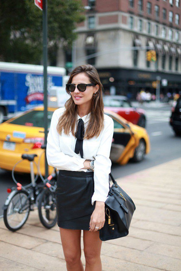 15 Ways Of How to Wear Tie Neck Blouses