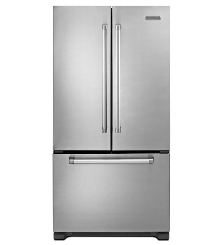 Kitchenaid Black Stainless Steel Counter Depth French Door: 25+ Best Ideas About Counter Depth Refrigerator On Pinterest