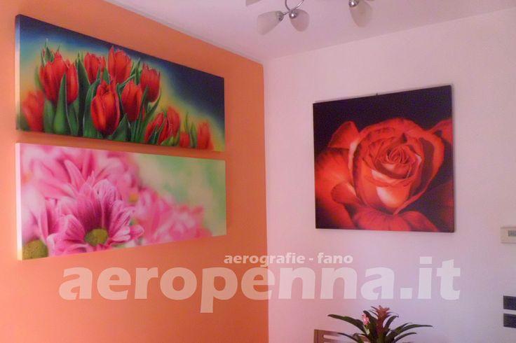 quadri da parete, aerografie