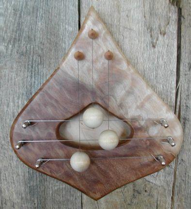 Door Harp Quilted Maple 3 String & 15 best Swedish door harps images on Pinterest | Harp Folk art ... pezcame.com