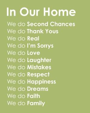 I want this for my house: Sayings, Sweet, Subway Art, Quotes, House, Homes, Families, Family Rules
