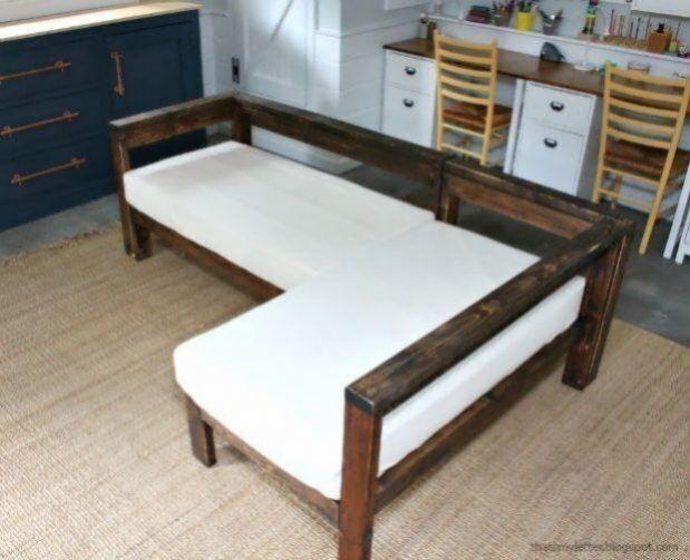 Ein Diy Tutorial Zum Erstellen Einer Schnitt Stil Sofa Mit Zwei Kinderbett Matratzen Fur Kissen Ein Sofa Kann Man En 2020 Mobilier De Salon Idee De Decoration Maison