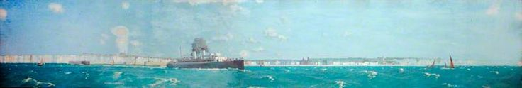BBC - Your Paintings - Great Western Railway Steamer 'St Patrick' Passing the Old Harry Rocks