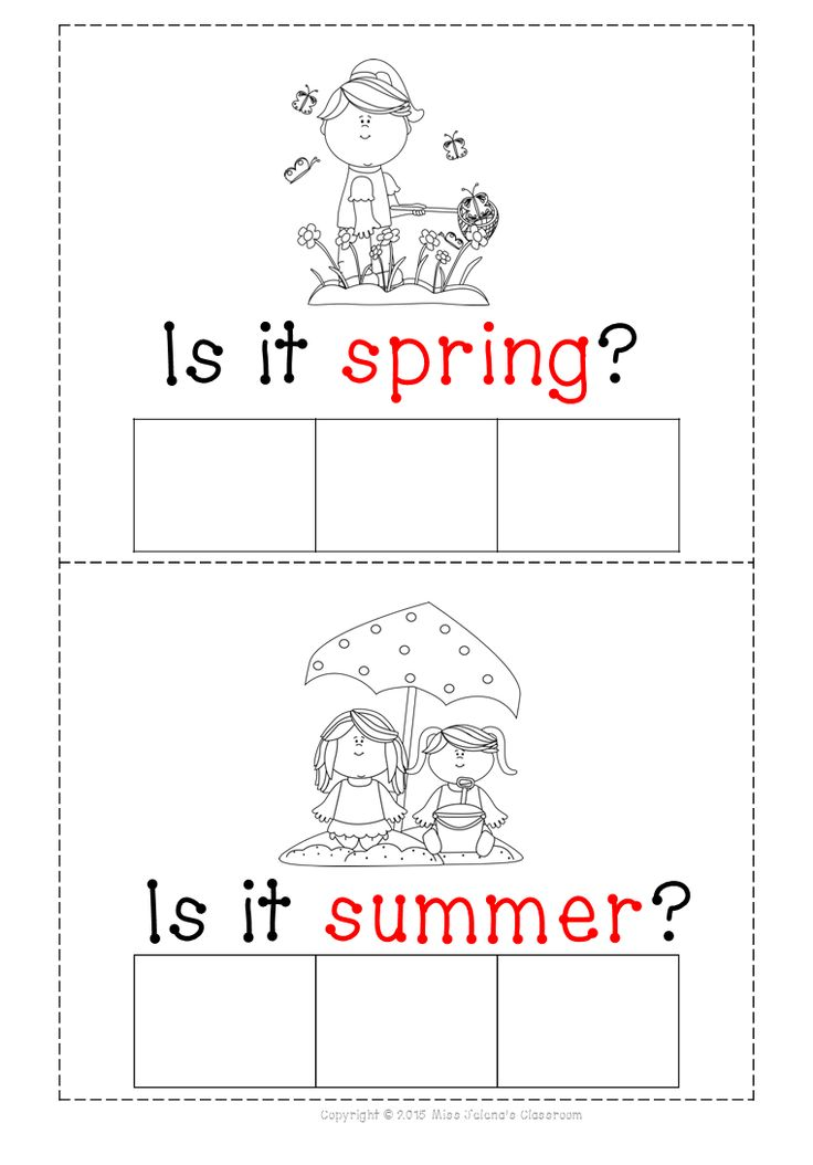 $ Seasons and Weather Pack - What season is it ? mat form the pack.  Seasons and Weather Pack has 60 pages in total !