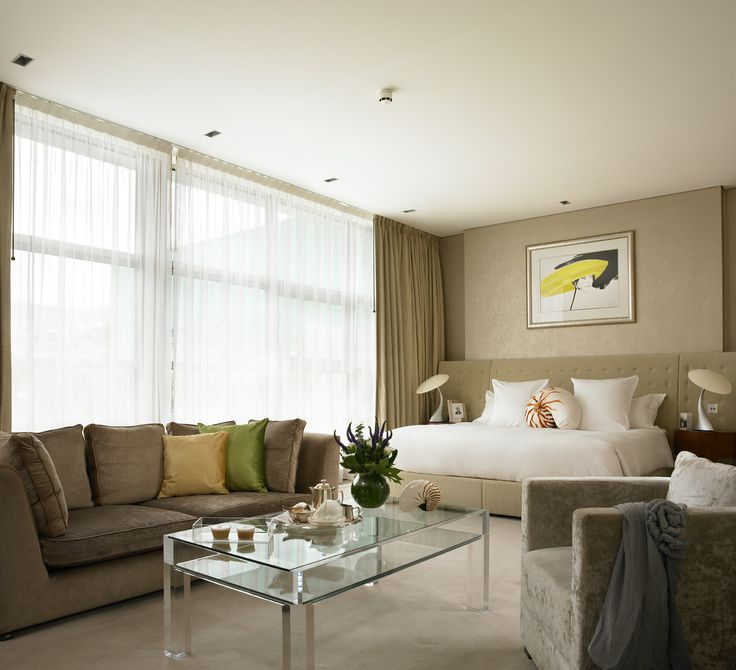 The g Hotel Galway - Luxury Bedroom, standalone bath, double sinks and larger walk in shower