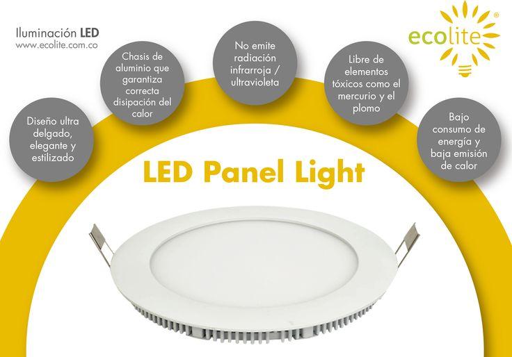 LED Panel Light Ecolite son fabricados bajos altos estándares de calidad y tecnología. Conoce todo nuestro portafolio de iluminación LED www.ecolite.com.co o llámanos al 316 875-9639