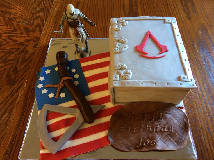 Cake Design Assassin S Creed : 1000+ images about An Assassin s Birthday on Pinterest ...
