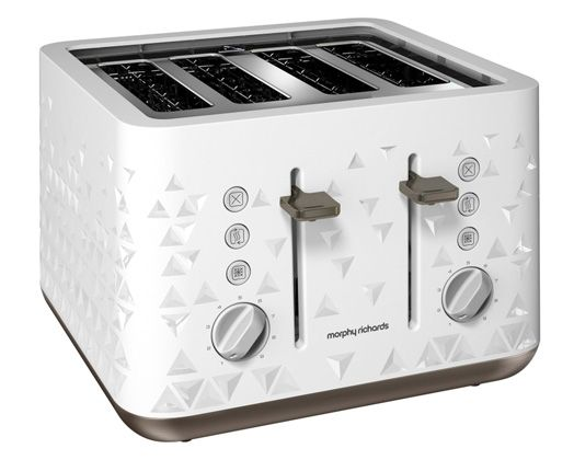 Prism Toaster (White) http://www.morphyrichards.co.za/products/white-prism-4-slice-toaster-248102